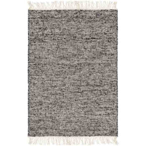 Rex Rug ~ Black/Cream - Cece & Me - Home and Gifts