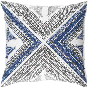 Rufiji Pillow ~ Navy - Cece & Me - Home and Gifts