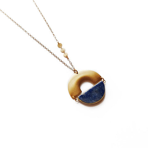 Image of Ramses Necklace ~ Lapis - Cece & Me - Home and Gifts