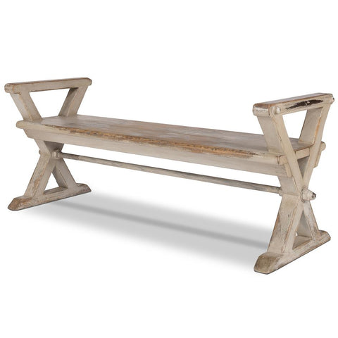 Replica Antique X Bench - Cece & Me - Home and Gifts