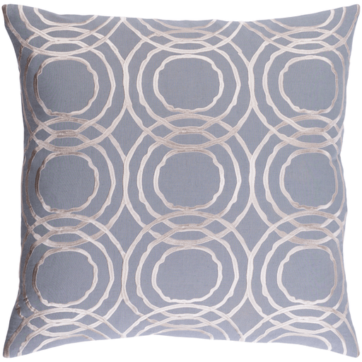 Ridgewood Pillow ~ Medium Gray - Cece & Me - Home and Gifts