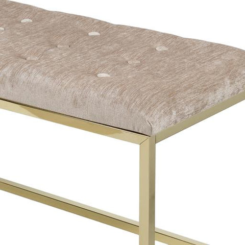 Rigsby Bench ~ Taupe - Cece & Me - Home and Gifts