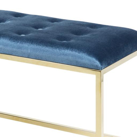 Rigsby Bench ~ Blue - Cece & Me - Home and Gifts