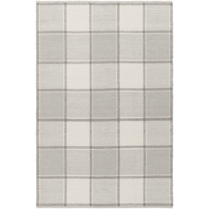 Rockford Wool Rug ~ Gray/Cream - Cece & Me - Home and Gifts