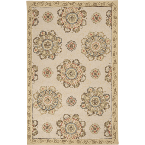Image of Rollinson Rug ~ Cream - Cece & Me - Home and Gifts