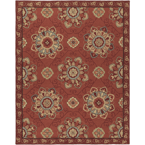 Image of Rollinson Rug ~ Rust - Cece & Me - Home and Gifts
