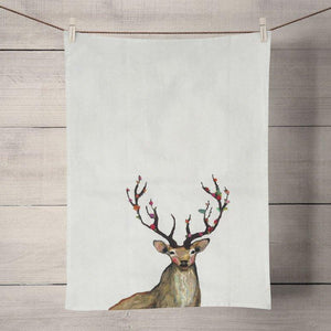 Rosy Buck Tea Towels