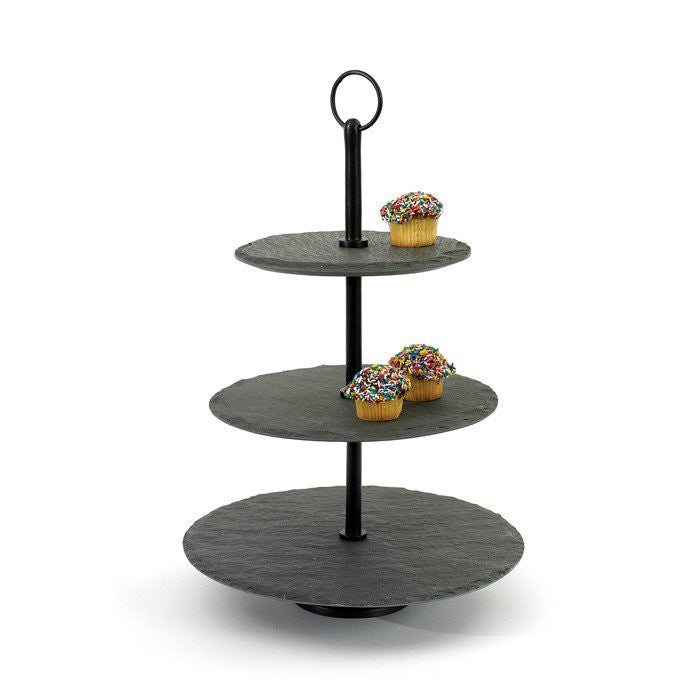 Round Slate Stand - Cece & Me - Home and Gifts