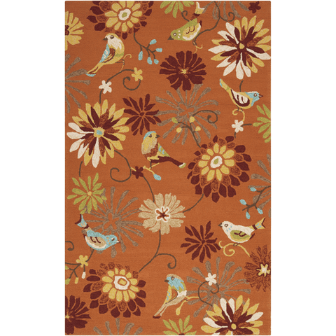 Image of Rove Rug ~ Burnt Orange - Cece & Me - Home and Gifts