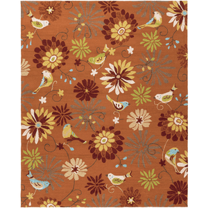 Rove Rug ~ Burnt Orange - Cece & Me - Home and Gifts