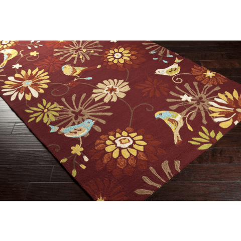 Image of Rove Rug ~ Garnet - Cece & Me - Home and Gifts