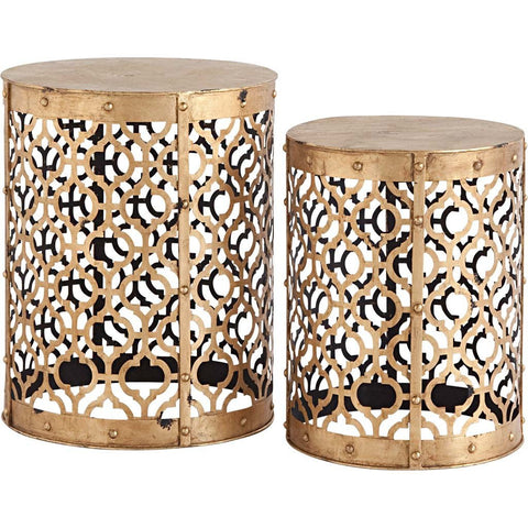 Rudebekia Tables (Set of 2) - Cece & Me - Home and Gifts