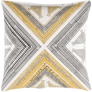 Rufiji Pillow ~ Bright Yellow - Cece & Me - Home and Gifts
