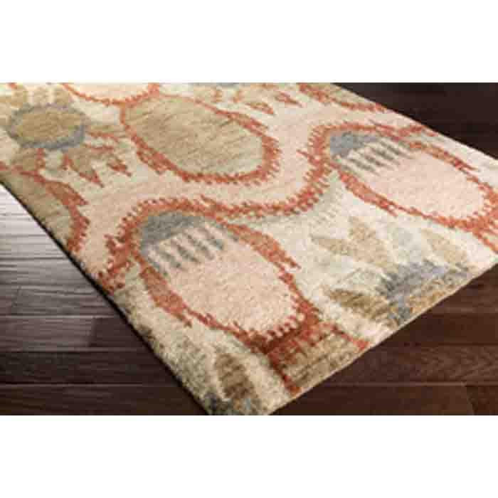 Scarborough Jute Rug ~ Taupe/Rust - Cece & Me - Home and Gifts