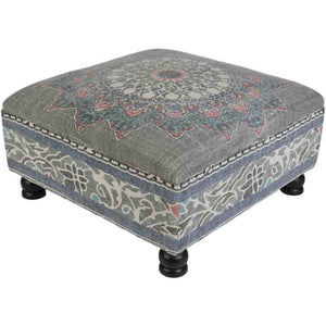 Surat Ottoman ~ Charcoal - Cece & Me - Home and Gifts