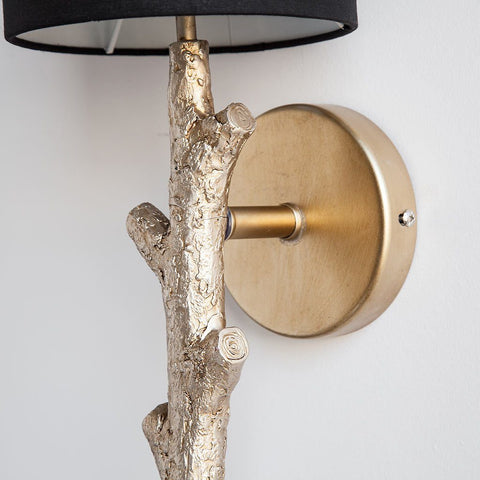 Image of Sabinal Tree Branch Wall Sconce ~ Gold - Cece & Me - Home and Gifts