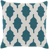 Salma Pillow ~ Teal/Khaki - Cece & Me - Home and Gifts