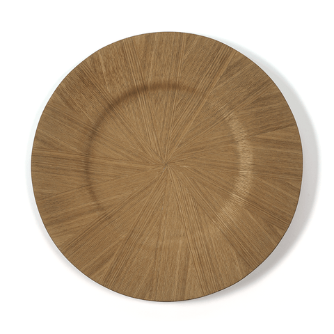 Samara Ash Veneer Charger Plate - Natural (Set of 6) - Cece & Me - Home and Gifts