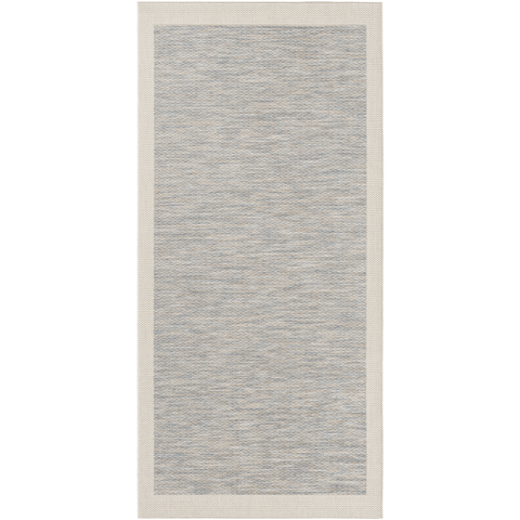 Santa Cruz Rug ~ Bright Blue/Taupe/Cream - Cece & Me - Home and Gifts