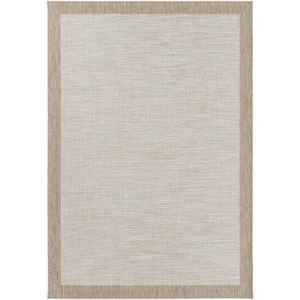 Santa Cruz Rug ~ Sky Blue/White/Taupe - Cece & Me - Home and Gifts