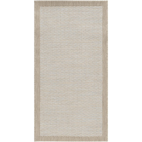 Image of Santa Cruz Rug ~ Sky Blue/White/Taupe - Cece & Me - Home and Gifts