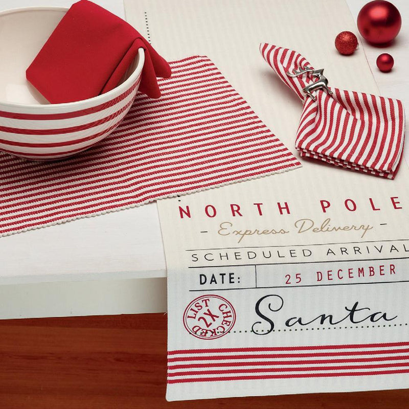 Santa's Workshop Table Runner - Cece & Me - Home and Gifts