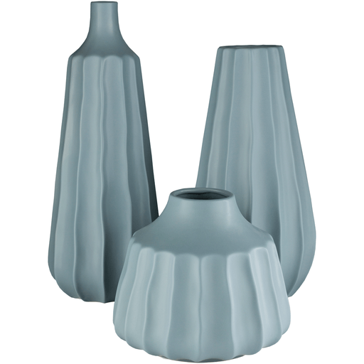 Santino Vase ~ Denim (Set of 3)