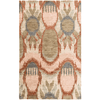 Scarborough Jute Rug ~ Taupe/Rust