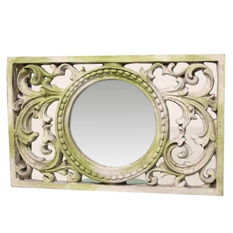 Scroll Work Frame with Mirror - Cece & Me - Home and Gifts