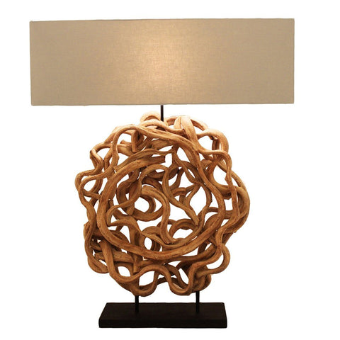 Image of Sculpted Vine Lamp