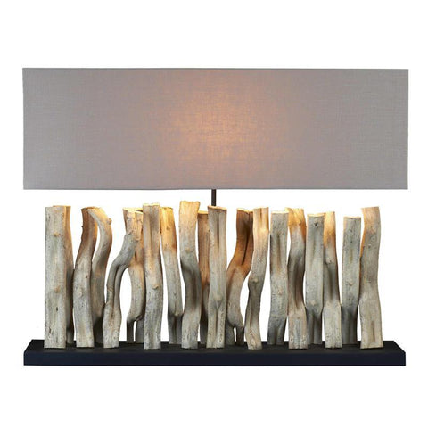 Sculptured Vertago Table Lamp - Cece & Me - Home and Gifts