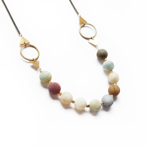 Image of Shapeshifter Necklace ~ Amazonite - Cece & Me - Home and Gifts