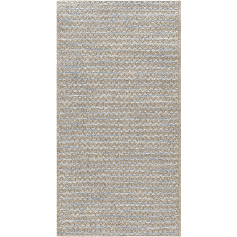 Image of Sibun Rug ~ Blue/Taupe/Cream - Cece & Me - Home and Gifts