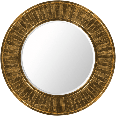 Image of Signal Mirror ~ Gold - Cece & Me - Home and Gifts
