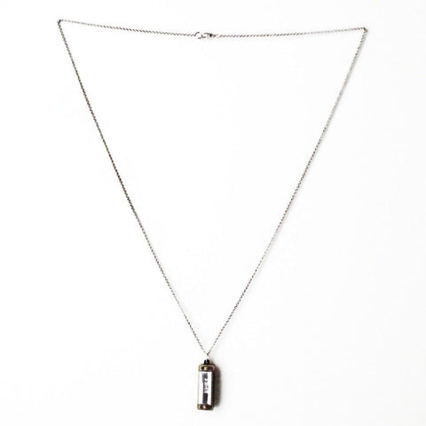 Image of Silver Harmonica Necklace - Cece & Me - Home and Gifts