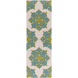 Skye Rug ~ Bright Blue/Aqua/Grass Green/Cream - Cece & Me - Home and Gifts