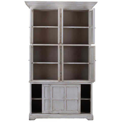 Slender Glass Cabinet - Cece & Me - Home and Gifts