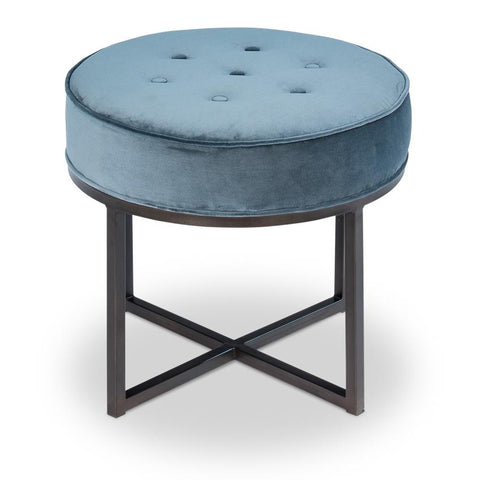Sligo Ottoman Blue - Cece & Me - Home and Gifts