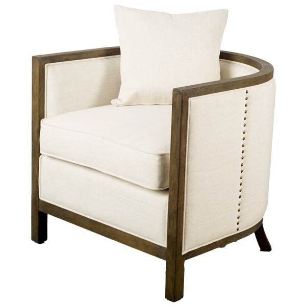 Sloan Chair ~ White - Cece & Me - Home and Gifts