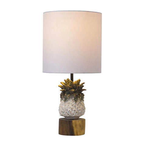 Image of Small Pineapple Ceramic Lamp