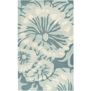 Solace Sea Rug ~ Navy/Sage/Sea Foam - Cece & Me - Home and Gifts