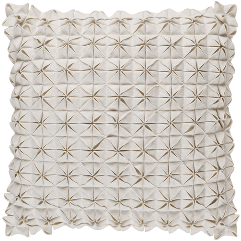 Image of Structure Pillow ~ White - Cece & Me - Home and Gifts