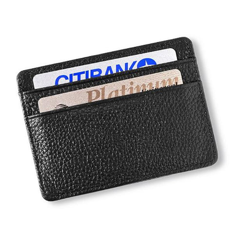 Studded Leather Money Clip and Card Holder - Cece & Me - Home and Gifts