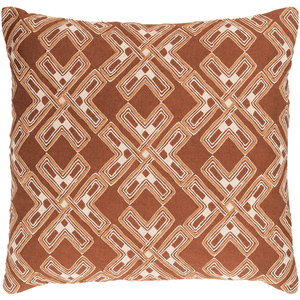 Subira Pillow ~ Camel/Cream - Cece & Me - Home and Gifts