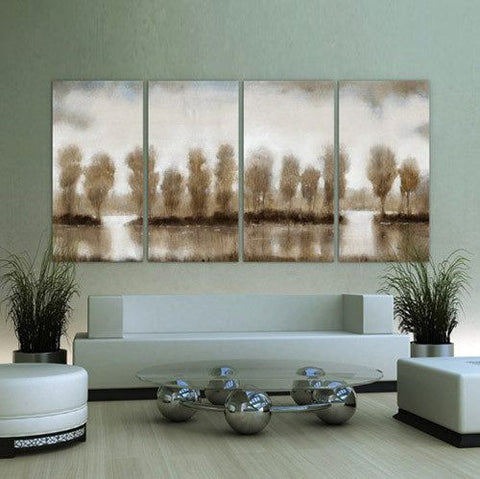 Image of Subtle Reflection D ~ Tempered Art Glass - Cece & Me - Home and Gifts