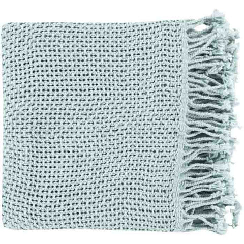 Image of Tibey Throw ~ Pale Blue - Cece & Me - Home and Gifts
