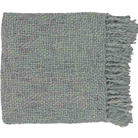 Tobias Throw ~ Medium Gray - Cece & Me - Home and Gifts