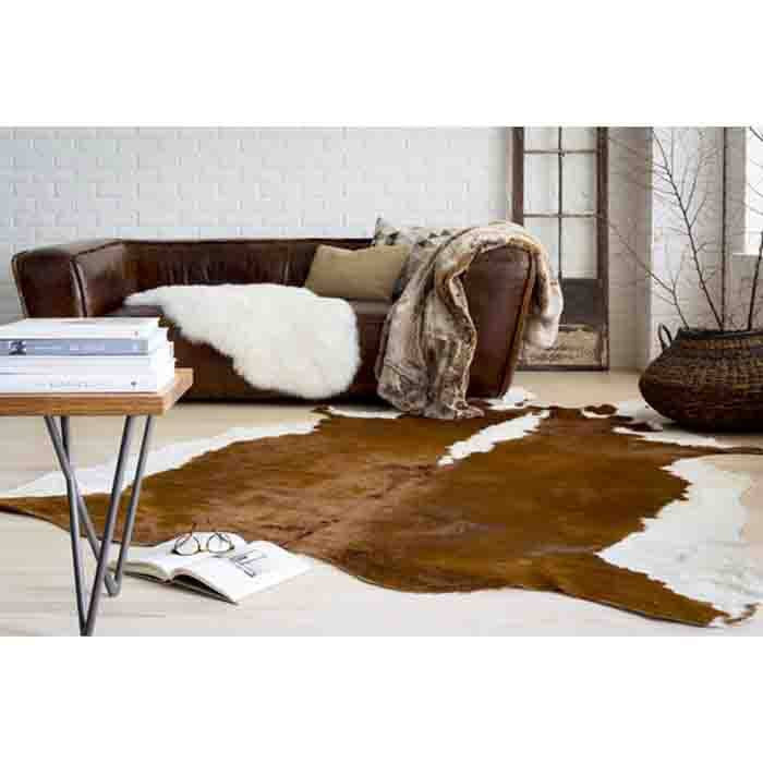 Trail Cowhide Pillow II - Cece & Me - Home and Gifts