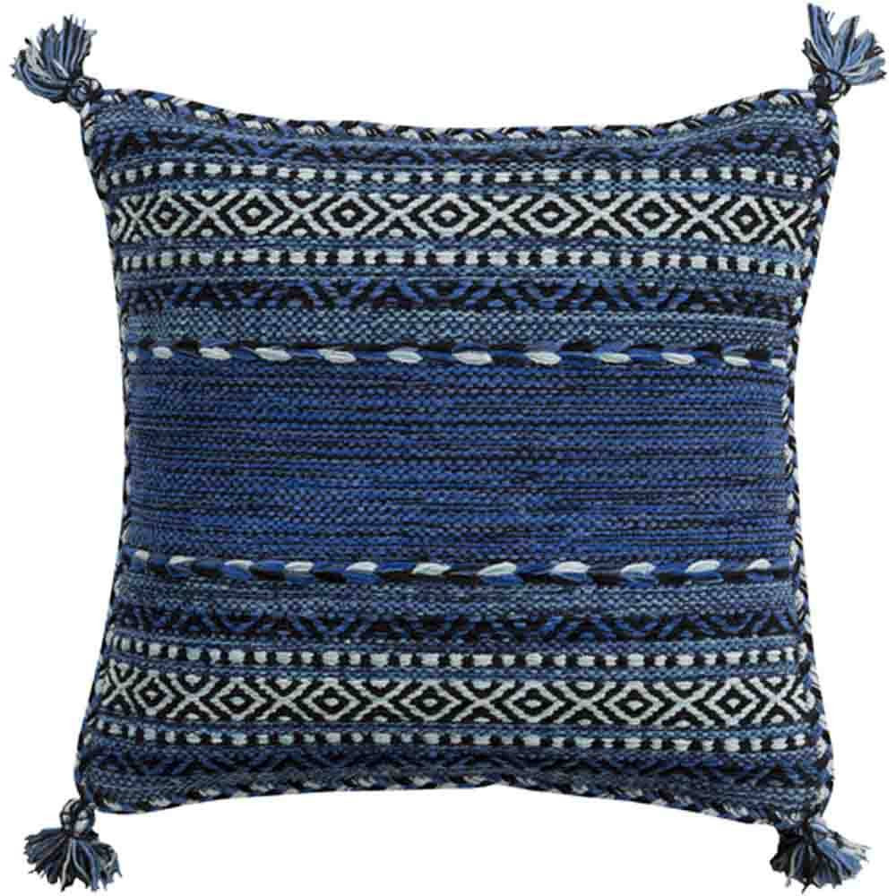 Trenza Pillow ~ Blue - Cece & Me - Home and Gifts