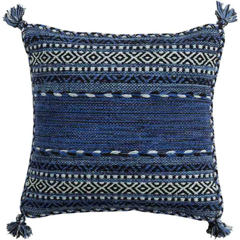 Image of Trenza Pillow ~ Blue - Cece & Me - Home and Gifts